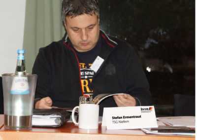 Geschäftsführer der TSG Niefern Stefan Ermentraut