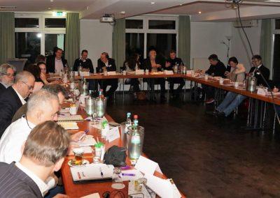 Die Delegierten und  Gäste
