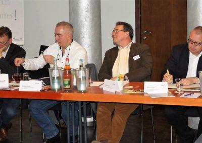 Michael Munz, Markus Lönne, Geron Jansen, Fritz Cirener