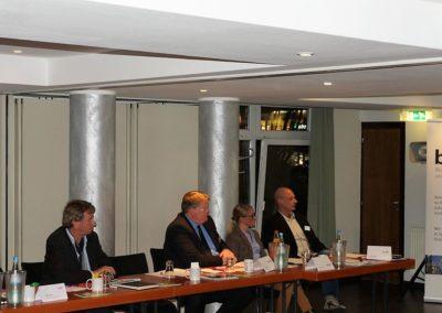 René Lang Präsident des Verbandes der Modedesigner neben Christian Elvers