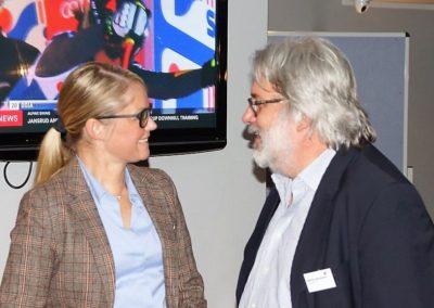 Kerstin Weiss die neue Vizepräsidentin des bvve im Gespräch mit Martin Hämmerle von der MomenTour Pforzheim