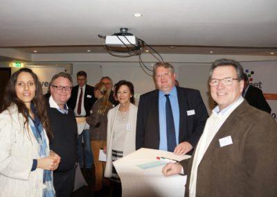 Caroline Schwarz, Stefan Renz,  Prof. Dr. Barbara  Tybusseck, Christof Klaas, Geron Janson