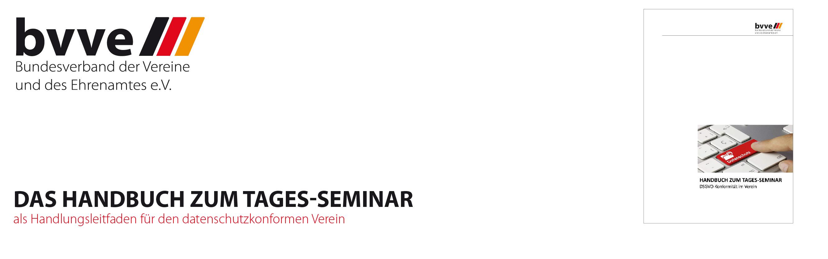 Das Handbuch zum Tages-Seminar