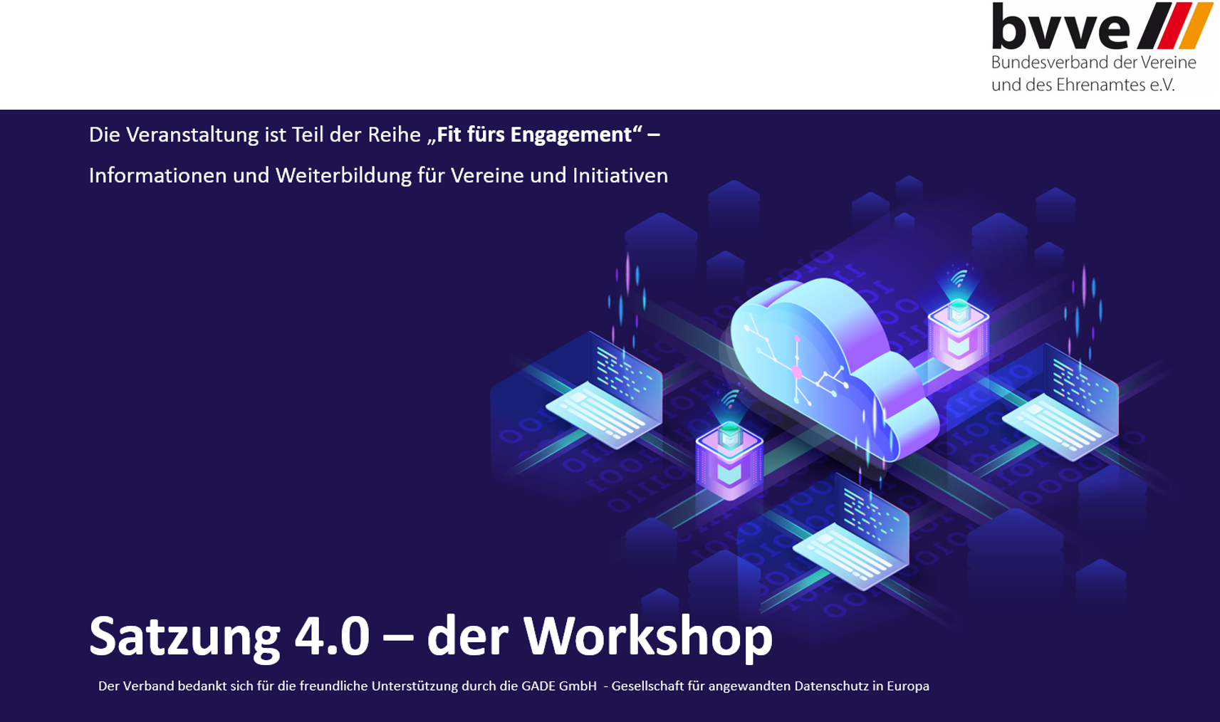 BVVE Workshop Satzung 4.0